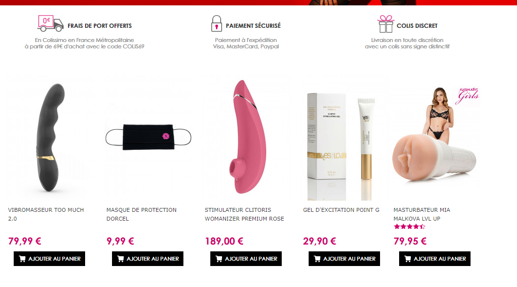 dorcel-store sex shop